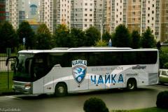 На территории дворца спорта «Янтарный» проходят съемки сериала «Чайки»