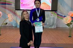 Воспитанница тренера дворца спорта «Янтарный» победила на чемпионате по воздушной атлетике
