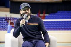 Илья Авербух встретился с молодежью во дворце спорта «Янтарный»