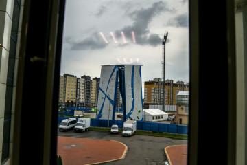 Информация про скалодром на стадионе «Сельма»