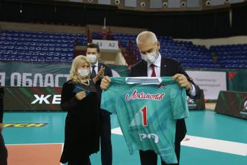 Визит министра спорта России Олега Матыцина