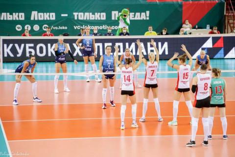 Игра между командами «Локомотив» – «Метар»