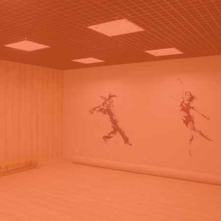 Аренда тренировочного/танцевального зала «Тайм»
